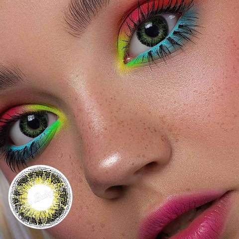 D09 colored contact lens
