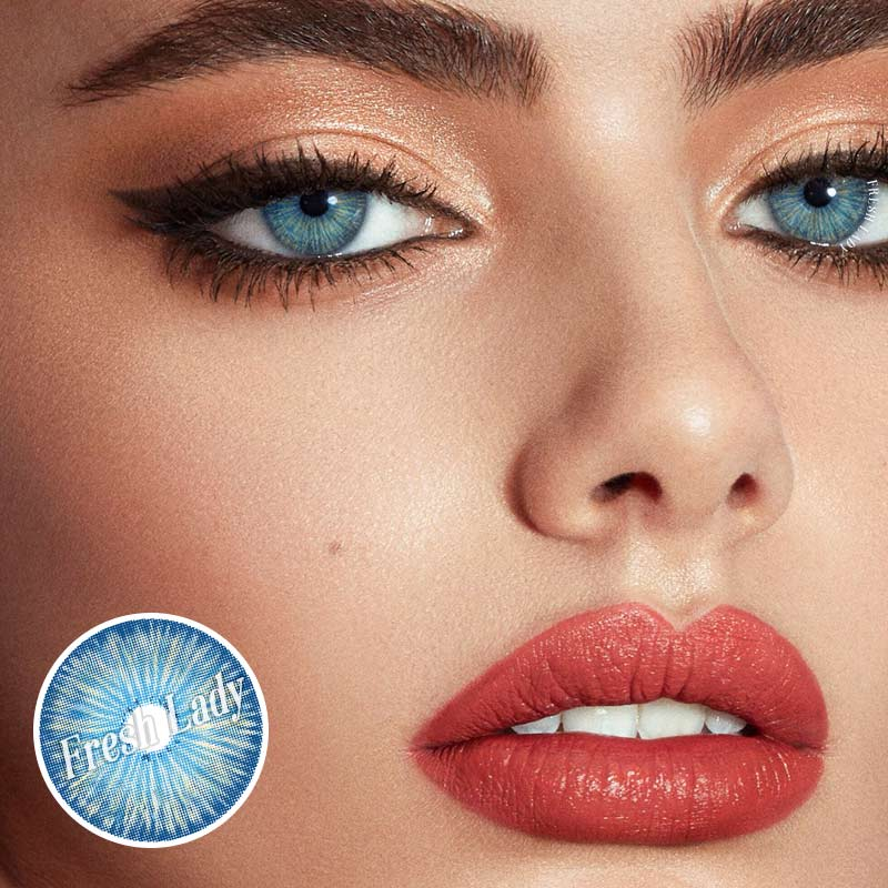 Freshlady New York BLUE contact lenses Mi-3